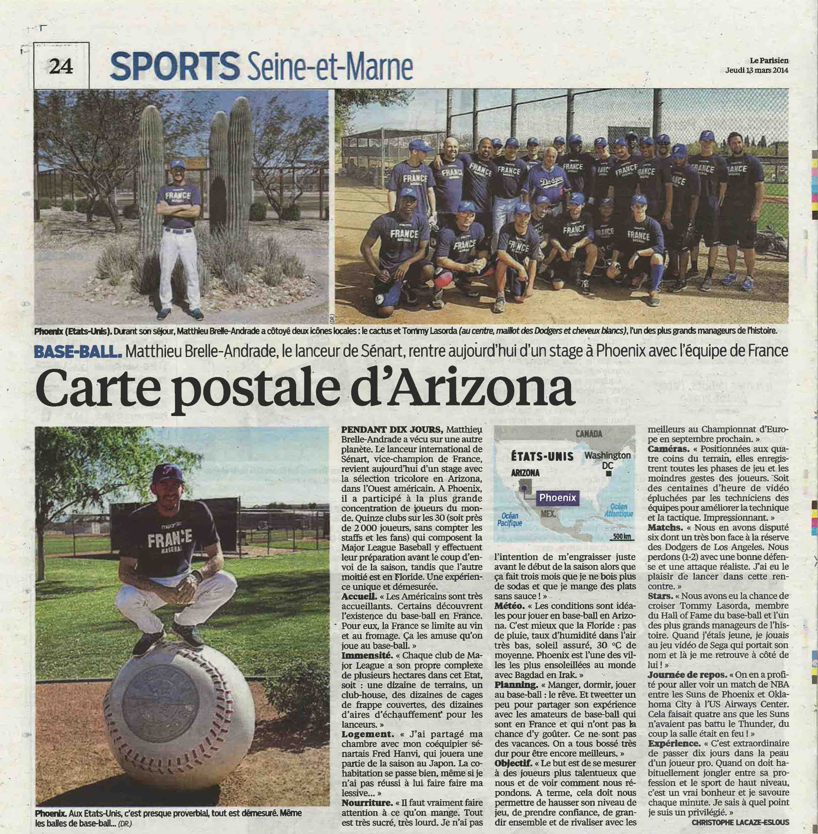 Le Parisien - MBA en Arizona BD