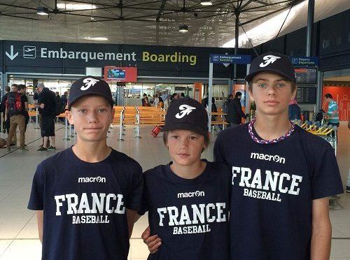 Les 12U des templiers en Equipe de France sont en route !